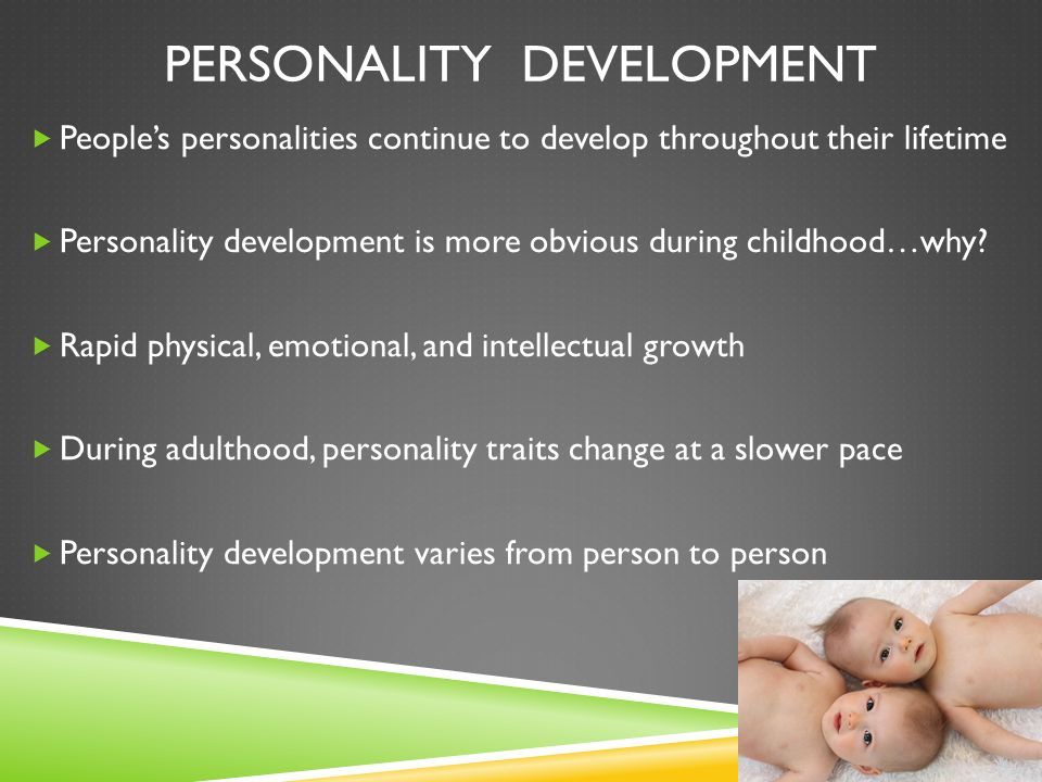 personality traits in adulthood Finally, we discuss implications of trait stability for theory, research, and  application keywords: personality, traits, stability, change, adulthood.
