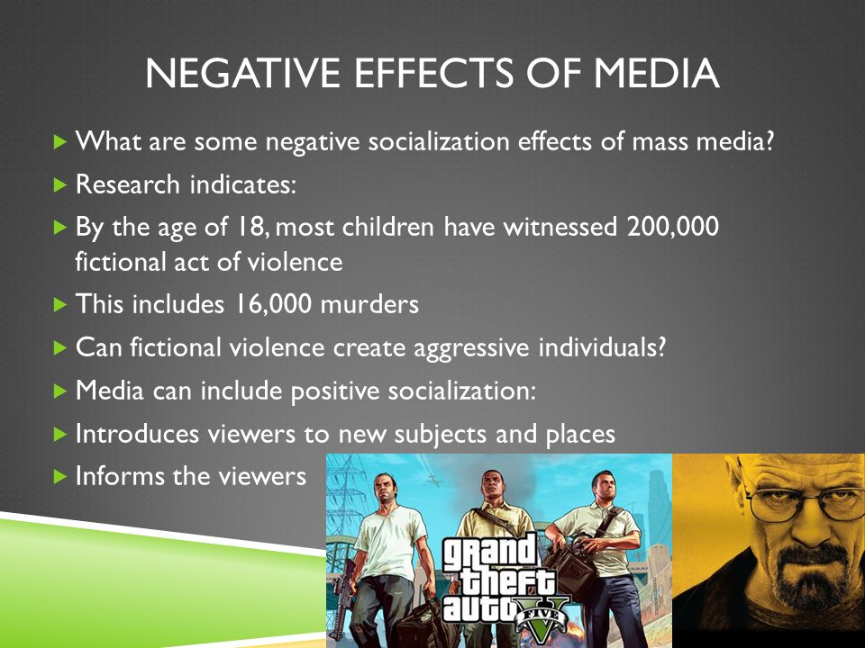Effect of mass media
