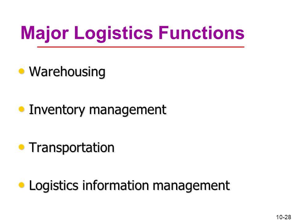 logistics information management Logistics management is the part of supply chain management that plans, implements, and controls the efficient, effective forward, and reverse flow and storage of goods.