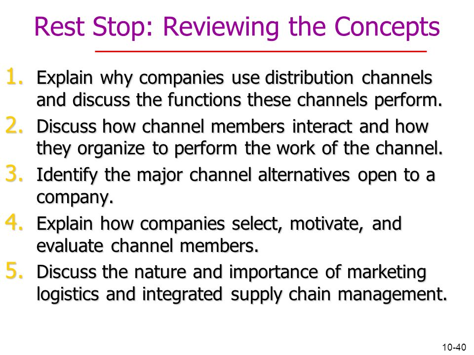 explain how distribution is arrange to provide customer convenience Explain how manager use customer relationship  how distribution is arranged to provide customer convenience  businesses arrange distribution to provide.