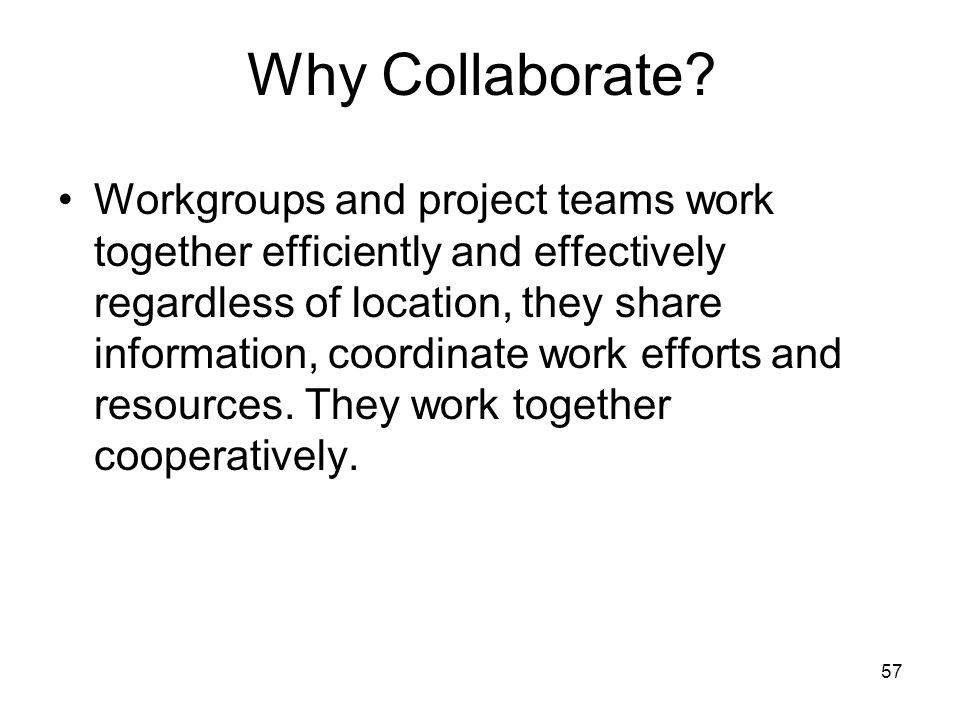 why are teams and groups seen For a snapshot of the main differences between work groups and teams, take a look at table 1 as you can see, work groups have a strong individual focus and teams have a strong collective focus the individual is not lost on a team.