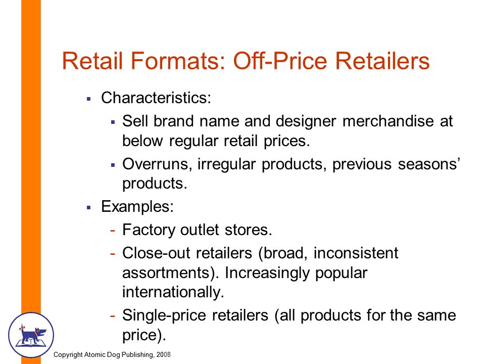 Types of Retail Formats in India