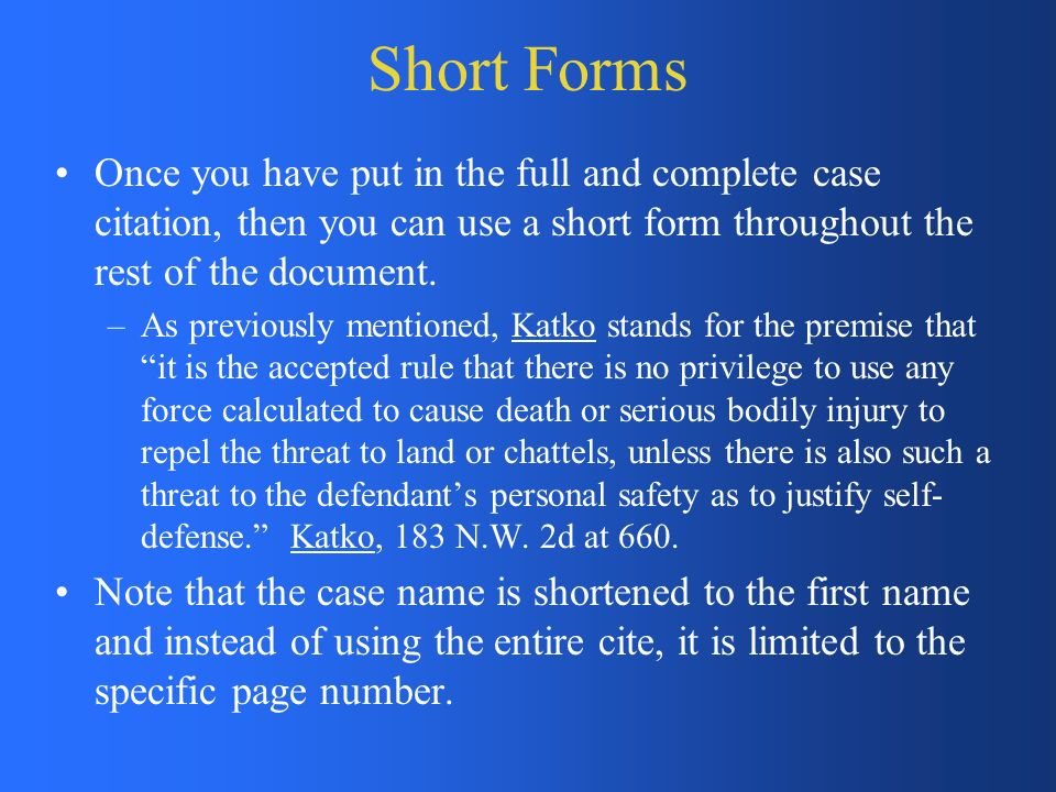 Bluebook: Uniform Citation for Legal Reference - ppt video online ...