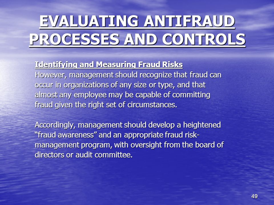 management antifraud programs and controls Berdon risk management professionals help assess your business from a risk perspective we map transaction flows and business cycles determine dependence on.