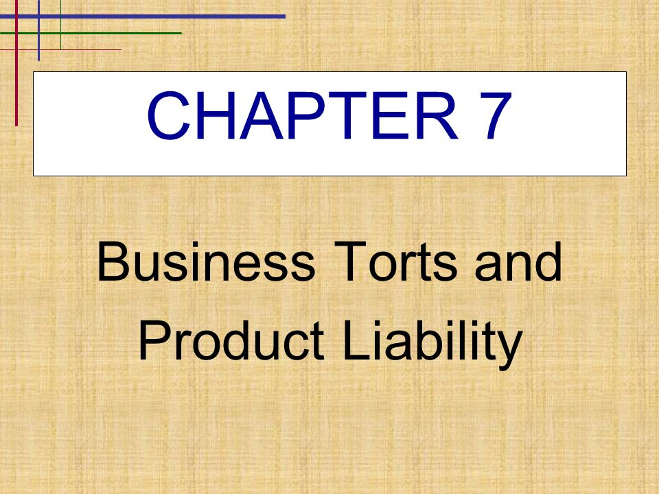 tortious liability In tort law cases, liability insurance is vital for the accused to protect their assets those that are found guilty without the benefit of liability insurance, often.