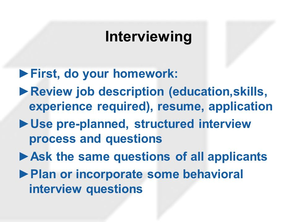 10 interviewing first - Pre Interview Questions To Ask Before An Interview