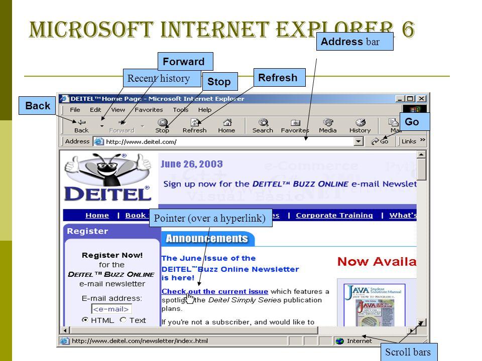 how to get address bar back on internet explorer