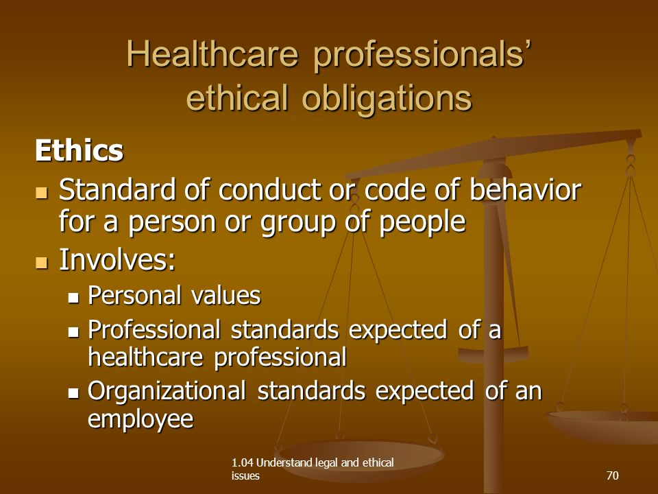 personal values and ethical standards 2 2015 educational policy and accreditation standards 7  personal values and the distinction between personal and professional values  applying the standards of.