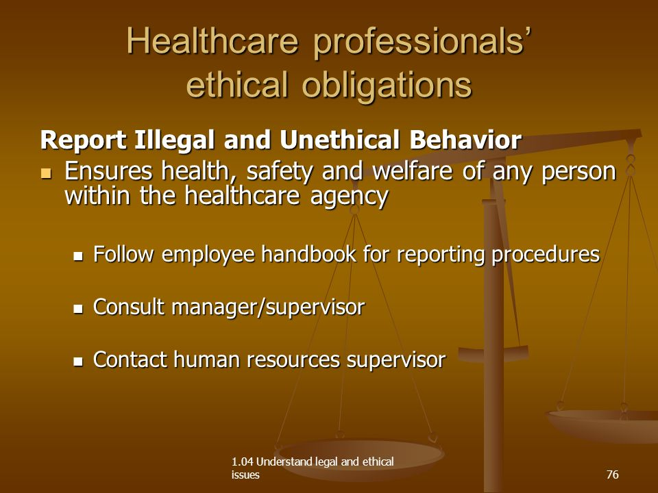 ethical issues in health