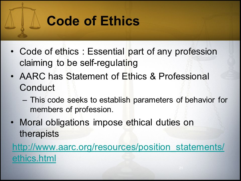 ethics of financial statements and codes Code of ethics statement code of ethics statement office of finance staff shall perform their duties in accordance with the appropriate recognized ethical and legal standards.