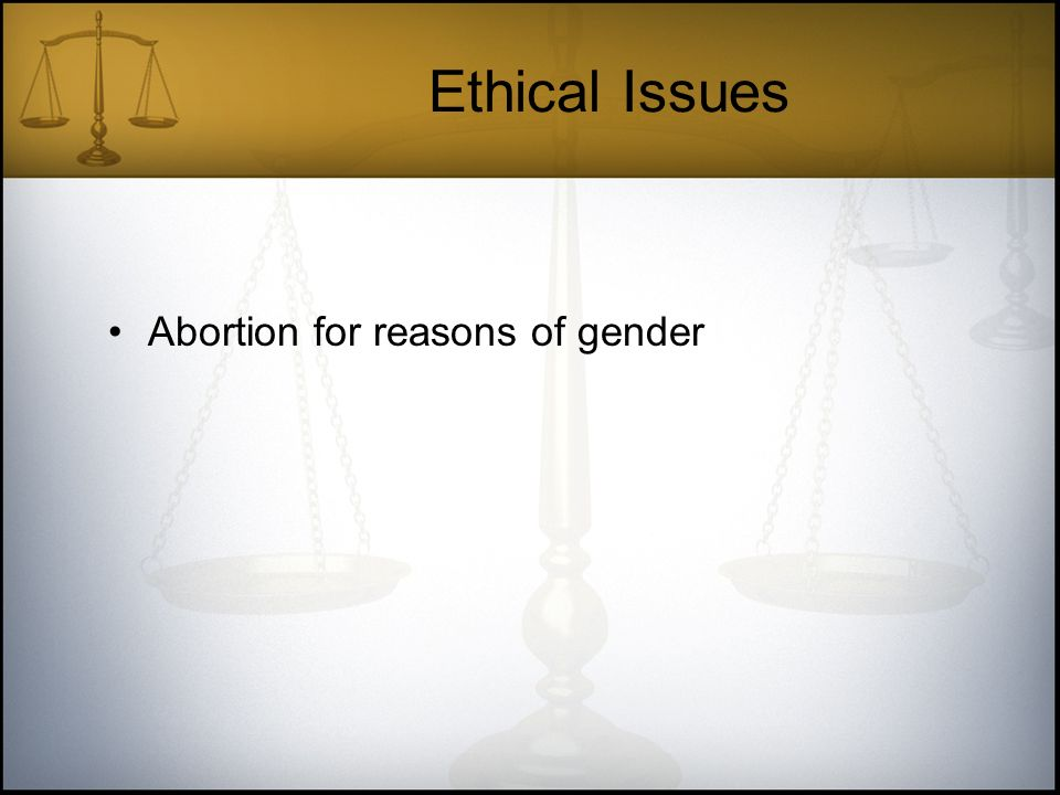 ethical healthcare issue abortion As healthcare professionals dedicated to saving and protecting human life, we   a elective abortion is not consistent with ethical health care as it violates the.