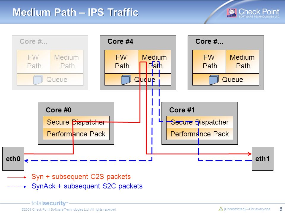 Medium Path – IPS Traffic