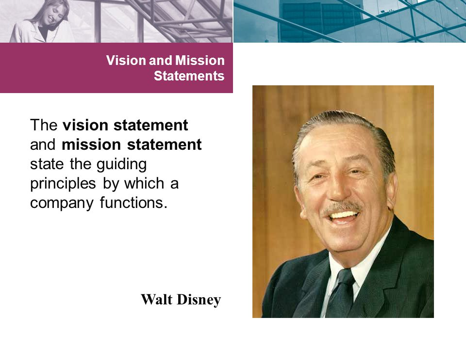 Vision and Mission Statements