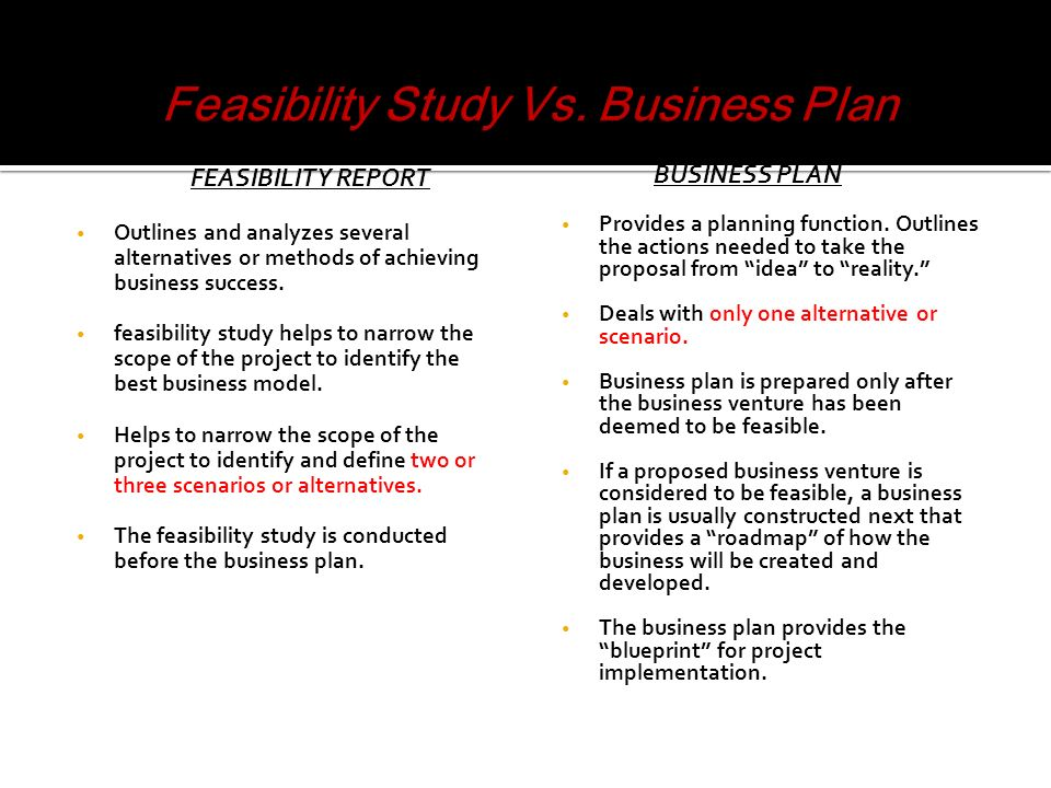 Business Proposal Vs Business Plan