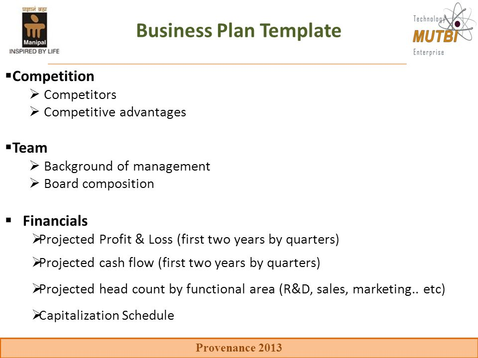 Key Components Of The Business Plan Ppt Video Online Download - Sales and marketing business plan template