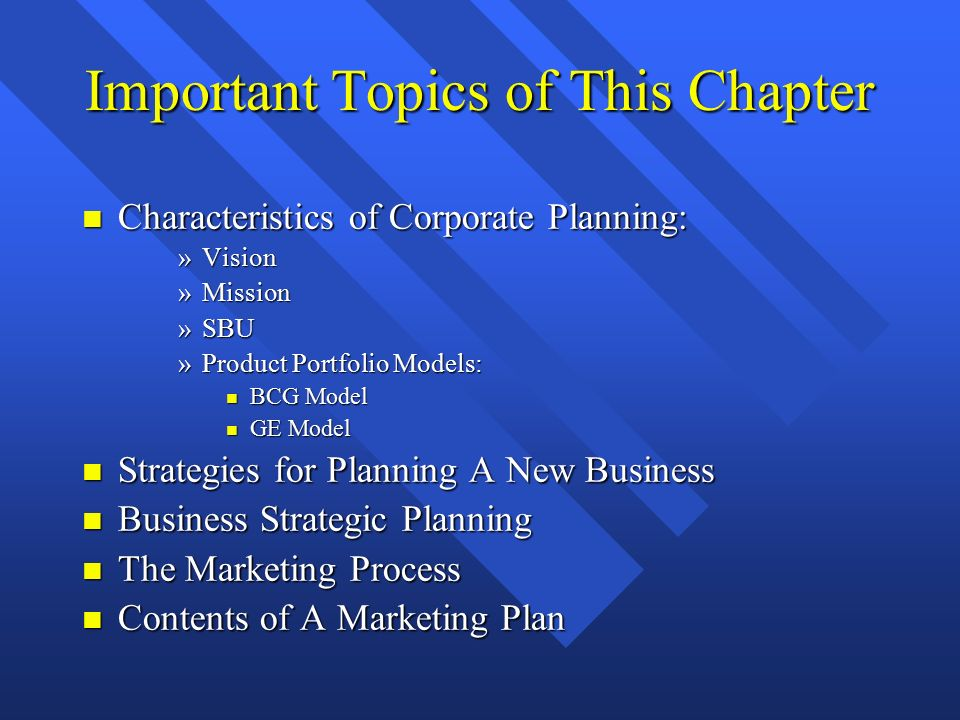 Business plan and its important