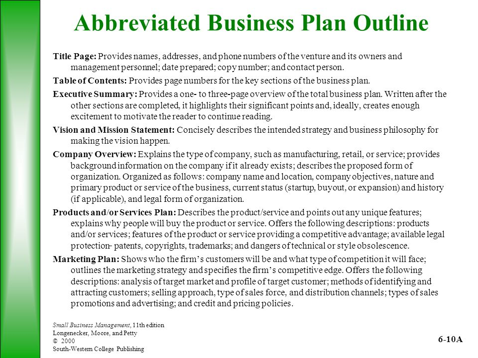 The Role Of The Business Plan  Ppt Video Online Download
