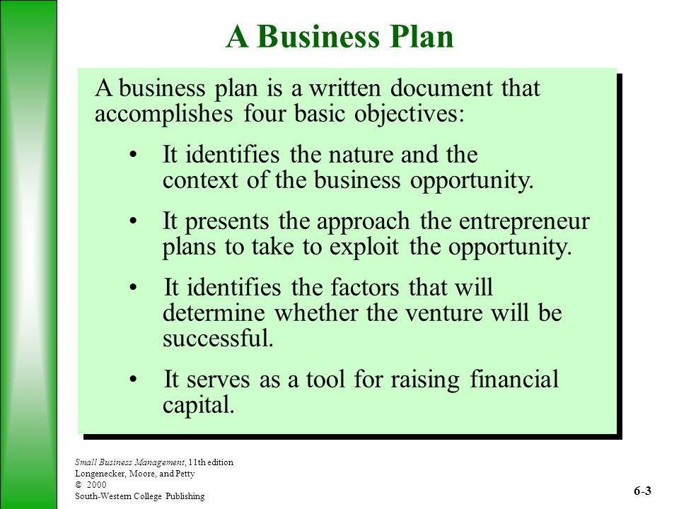 basic business plans