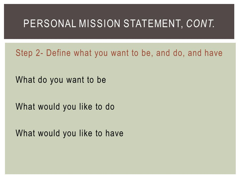 personal mission statement definition A personal statement on your cv is a great way to give your job application extra impact  how to write a personal statement for your cv.