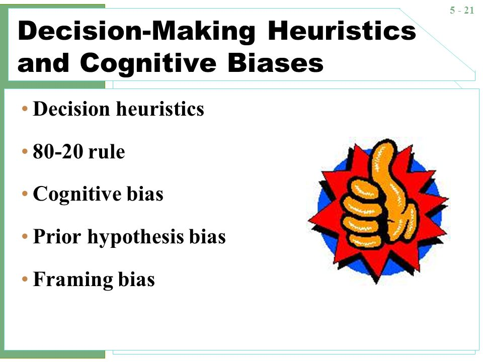 Heuristics in judgment and decision-making