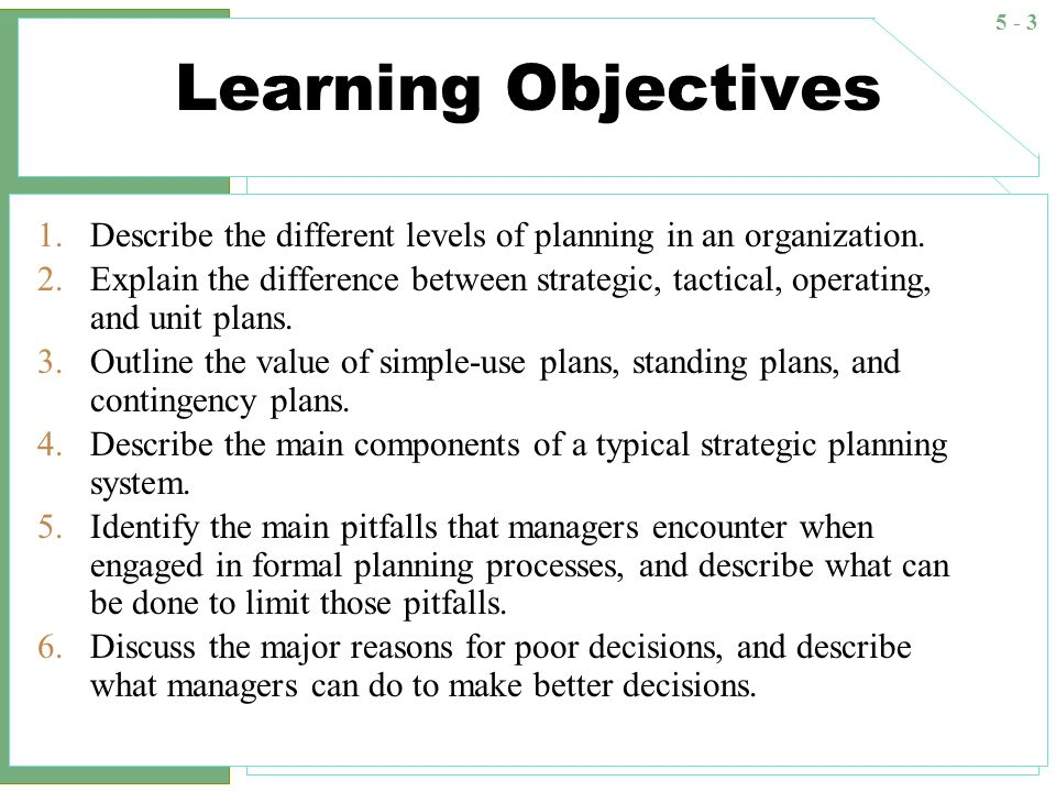 strategic tactical operational and contingency planning for boeing Developing strategic plans is a necessary part of a business many types of business plans exist, and two common types of plans include a tactical plan and an operational plan.