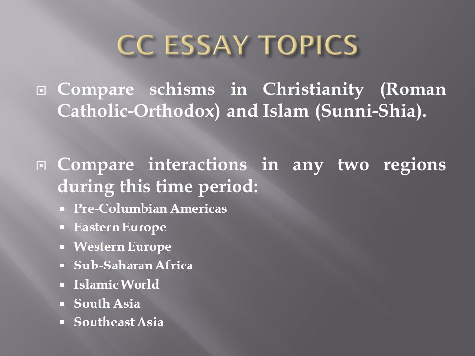 significant changes and continuities in east africa between 600 and 1450 essay Describe and analyze the cultural, economic, and political impact of islam on one of the following regions between 1000 ce and 1750 ce (west africa, south asia, or europe.