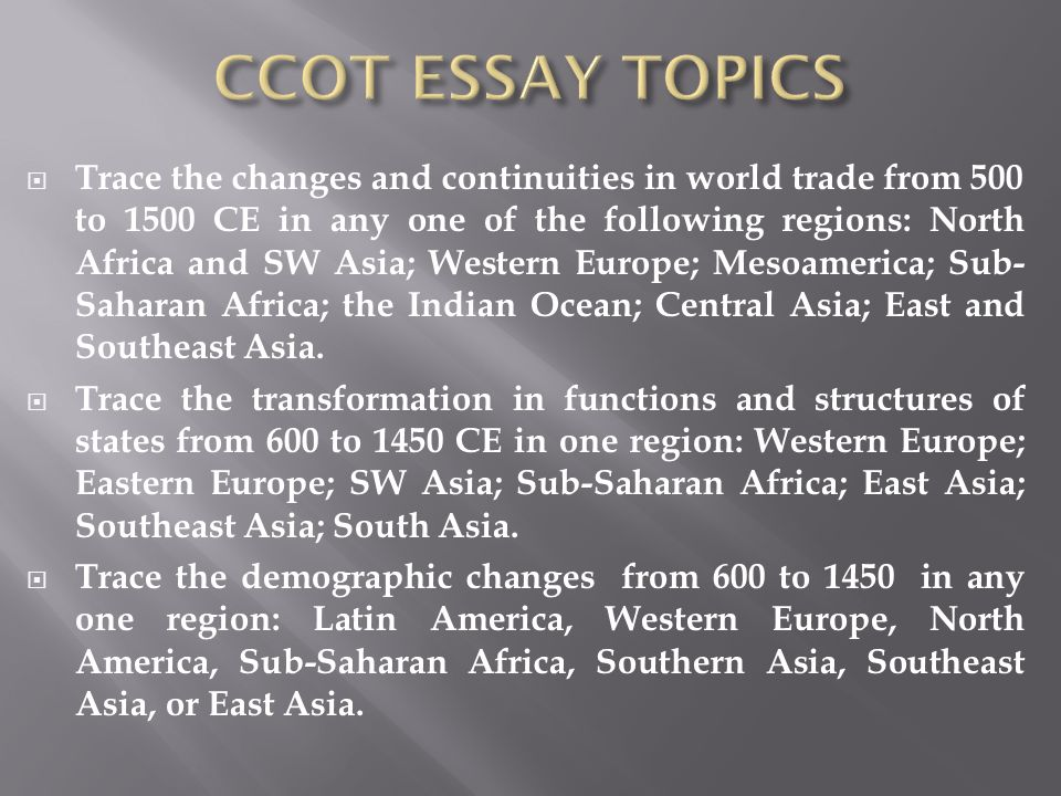 west africa mediteranean trade 600 1450 ccot Period 3 review: 600 - 1450 ce mrs osborn's apwh class  long-distance trade throughout asia, africa, and europe  two major empires emerged in west africa .
