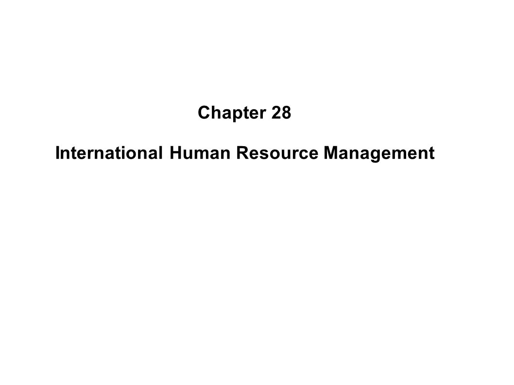 internation human resources Human resource management articles with an international theme.
