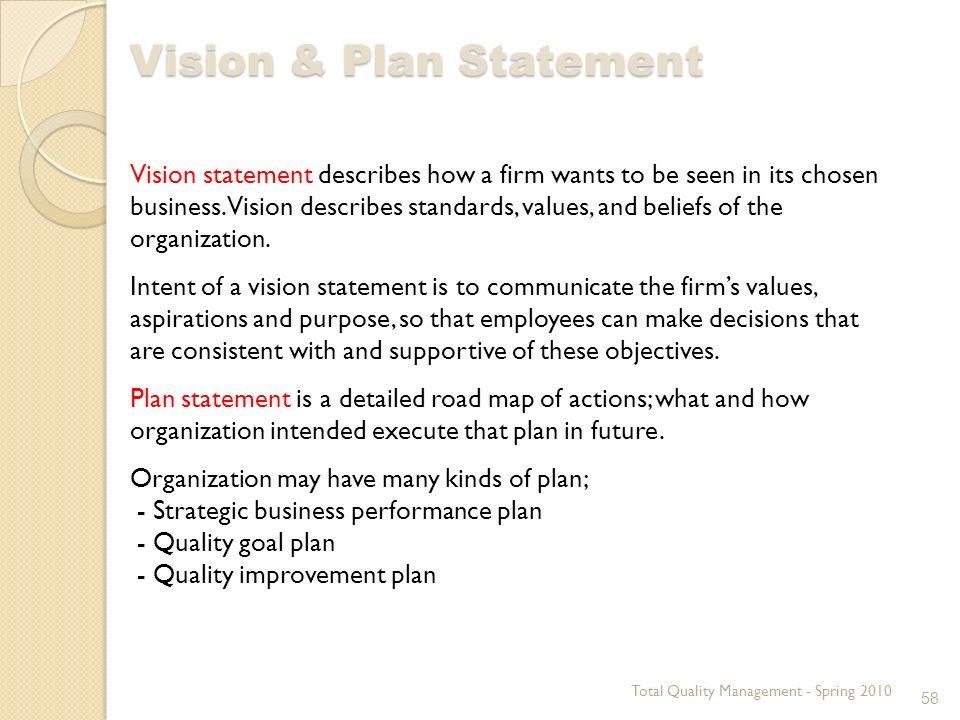 Vision spring business plan