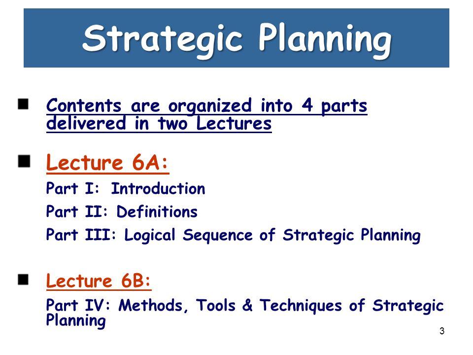 strategic plan part 3