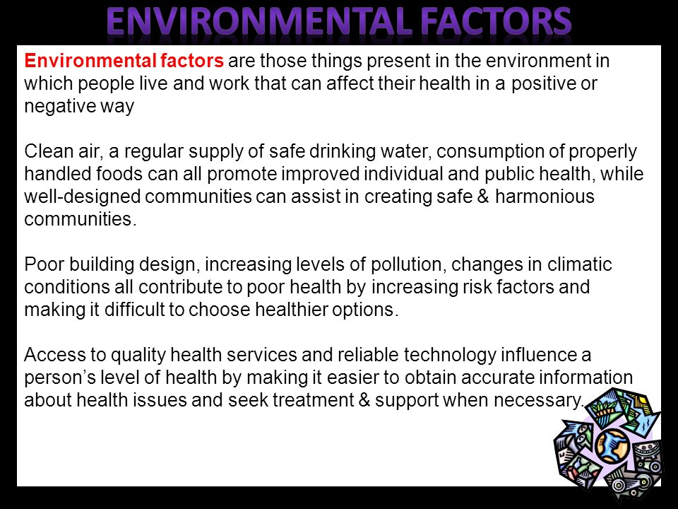 The environmental factors that influence the character of an individual