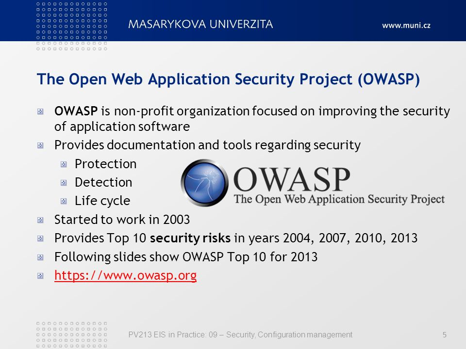 web application security