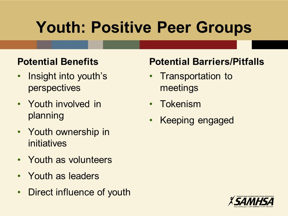 positive peer influence essay Positive peer pressure: a informal networks to keep peer pressures positive we are even wiser to make a balanced effort to influence what goes on among.