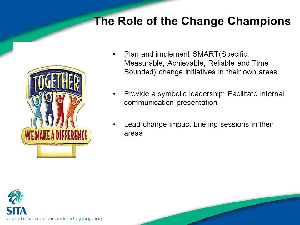 the roles of leaders and followers in implementing change Informal leaders and cultural change author: deborah l krueger, msn, rn, ne-bc, cnrn, chtp  role of the informal leader before we could implement a change that significantly impacted.