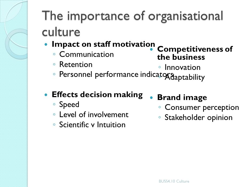 The Importance of Organizational Culture and What It Is