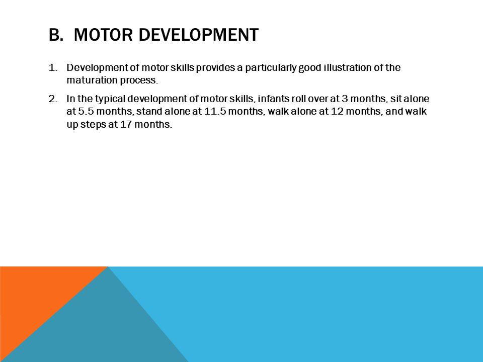 Unit ix developmental psychology ppt download for Development of motor skills