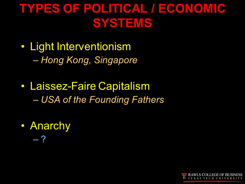 capitalism is another term for what kind of economic system Capitalism is an economic and political system in which individuals own economic resources and industry corporate capitalism: in this type of economy, large capitalism, socialism & communism : introduction.