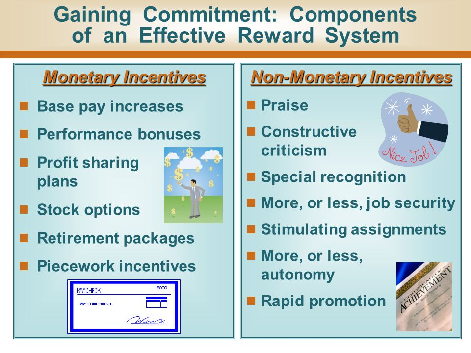 how incentive pay can increase employee Team incentives can increase performance by the research found that incentive programs can increase differences between a company's goals and employee.