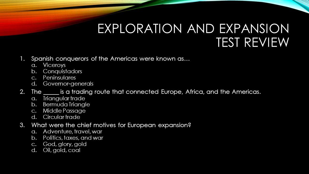exploration motives for