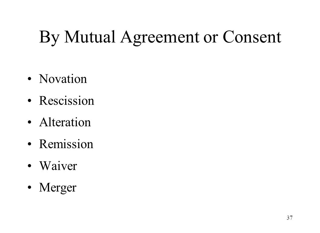 The Indian Contract Act ppt download – Novation Agreement