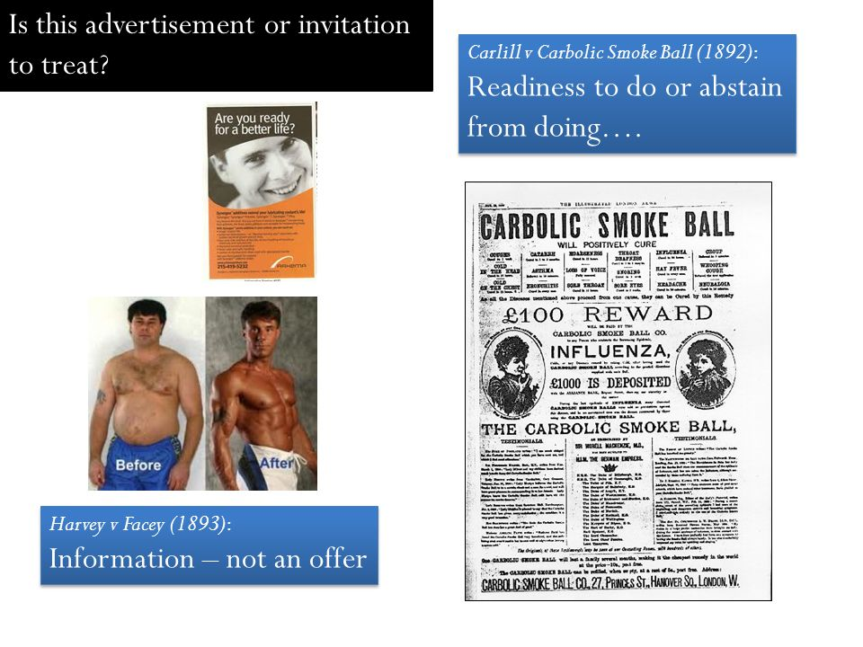 Advertisement Is An Offer Or Invitation To Treat