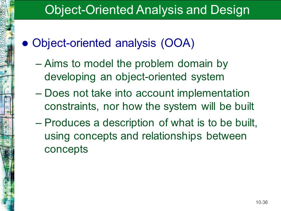 a business analysis of the object oriented hypermedia design model Model of the app 10–3 oohdm (100) dmgerman@uvicca oohdm • the object-oriented hypermedia design method • the cornerstones of the approach are: – navigation objects are views (in the database sense) of conceptual objects – the use of appropriate abstractions to organize the.