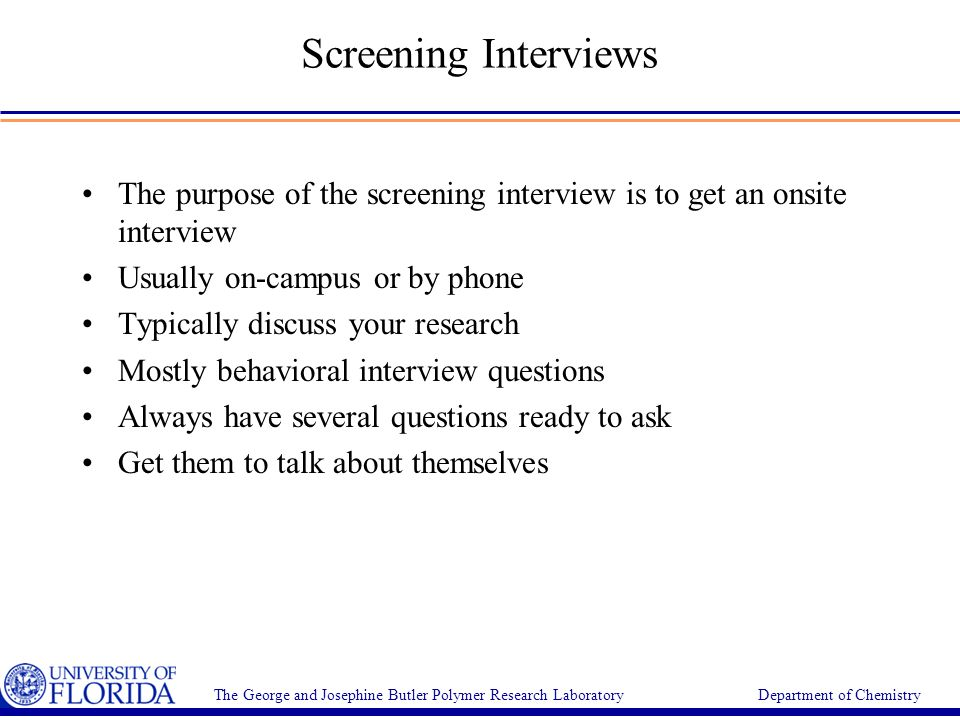 onsite interview tips