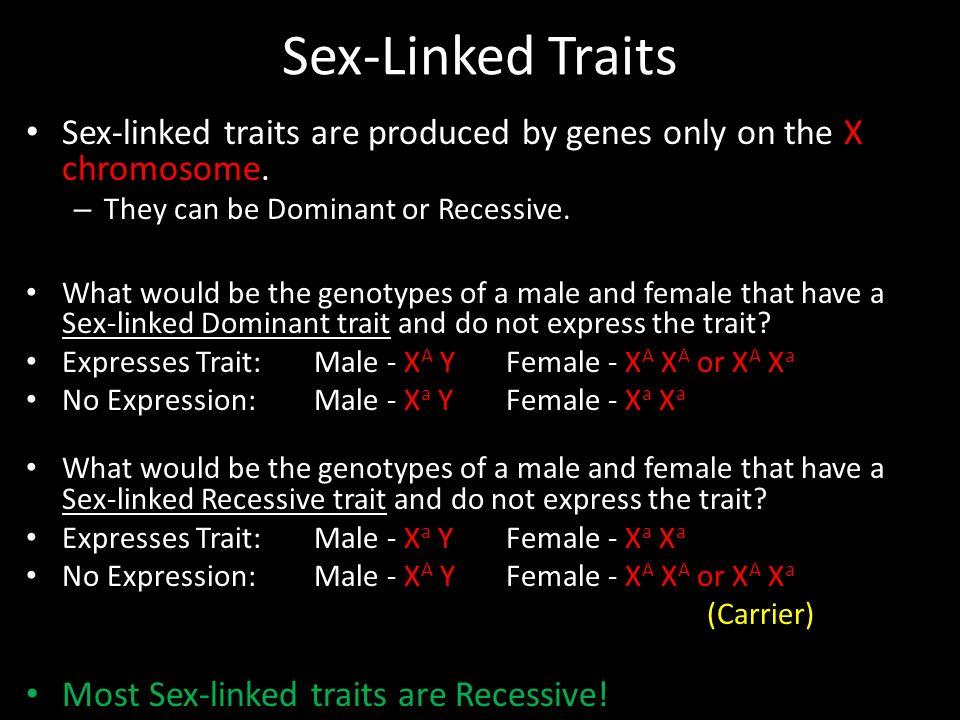 Sex linkage - Wikipedia