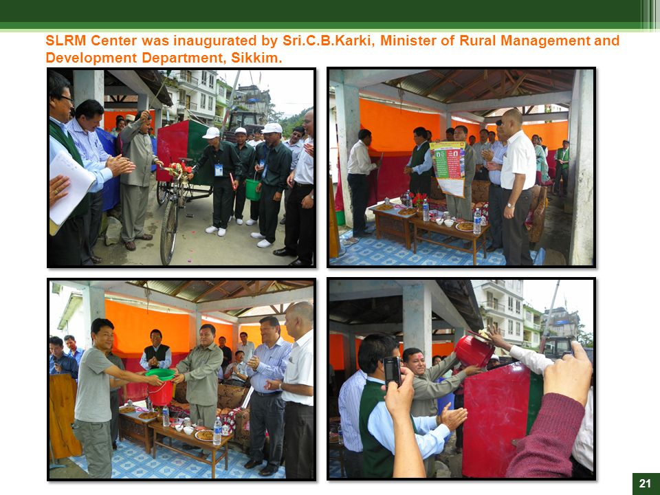 SLRM Center was inaugurated by Sri. C. B