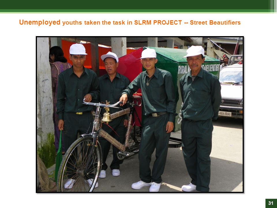 Unemployed youths taken the task in SLRM PROJECT -- Street Beautifiers