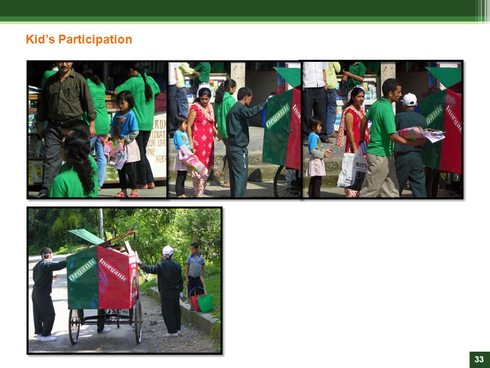 Kid's Participation