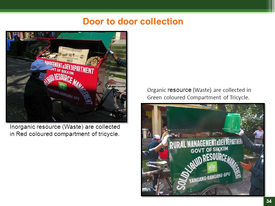 Door to door collection