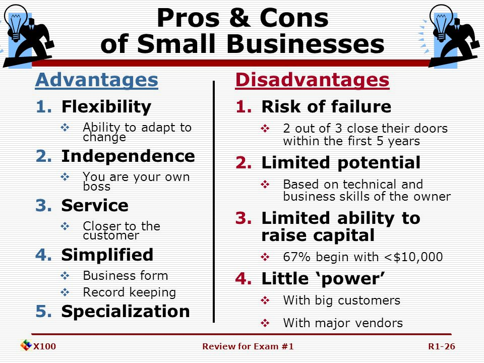 7 Advantages of Being a Small Business – Hiveage