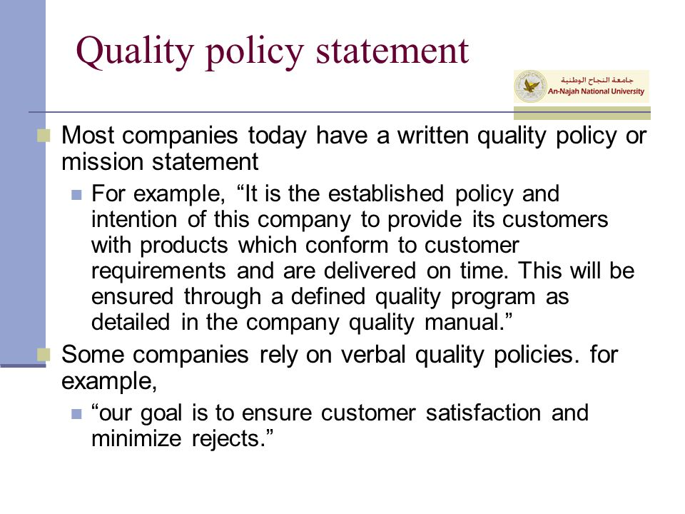 Health And Safety Policy Examples Pictures To Pin On Quality Policy ...